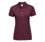 JZ566F.21.0 - 566F•Ladies` Fitted Stretch Polo